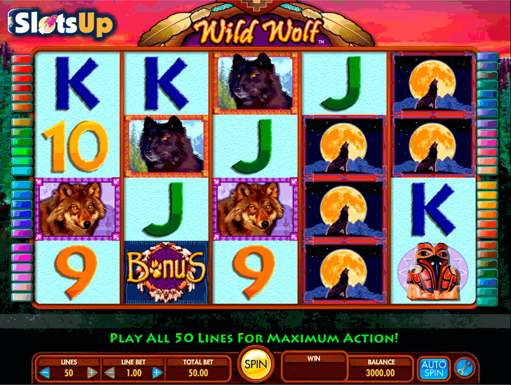 Night Wolves Slots - Play Now for Free or Real Money