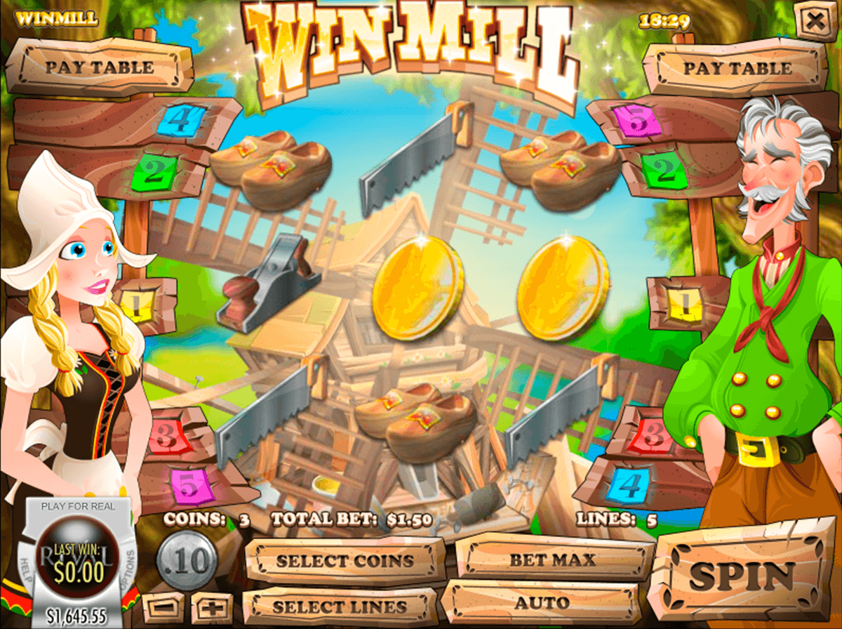 Win Mill Slot Machine - Play Free Rival Gaming Slots Online