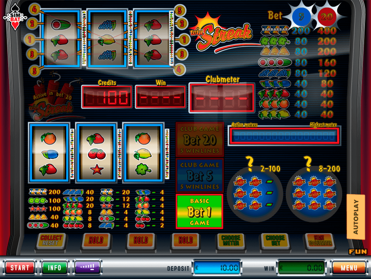 Win Streak Slot Machine Online ᐈ Simbat™ Casino Slots