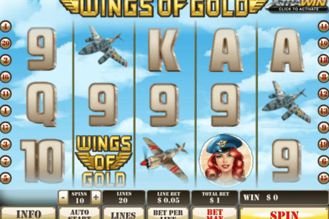 wings of gold playtech casino slots