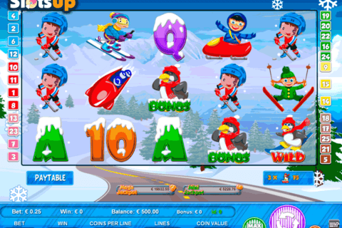 winter sports portomaso casino slots