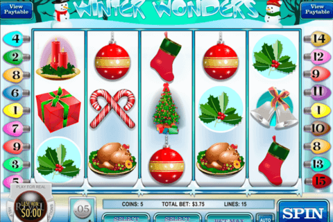 winter wonders rival casino slots 480x320