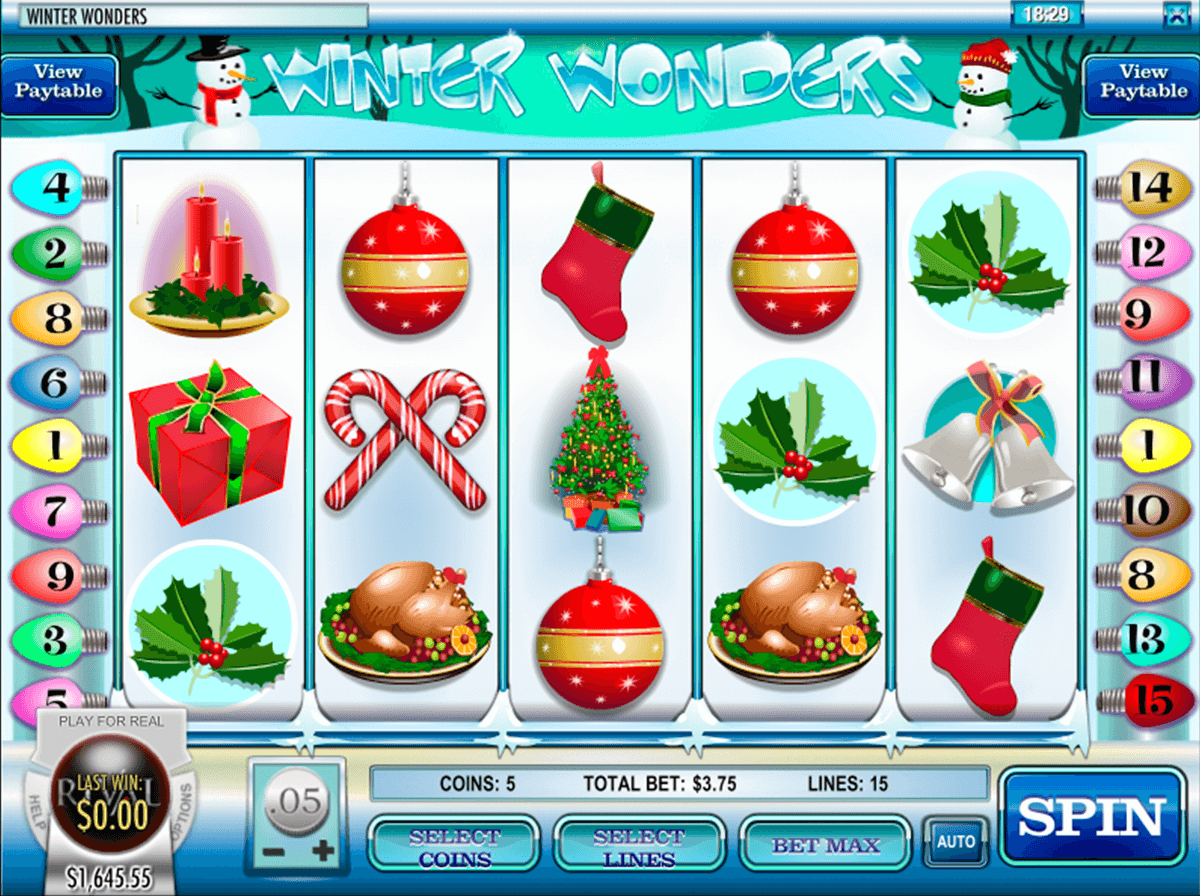 Winter Wonders Slot Machine Online ᐈ Rival™ Casino Slots