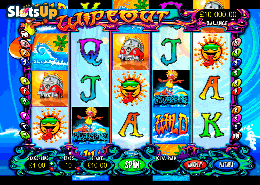 wipeout barcrest casino slots