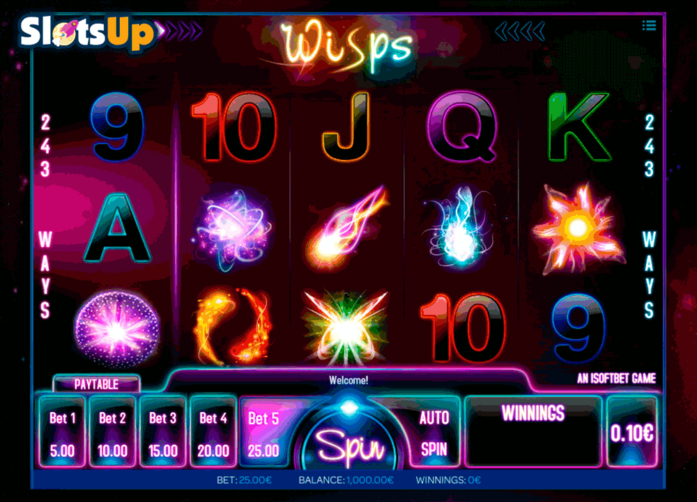 Wisps Slot Machine Online ᐈ iSoftBet™ Casino Slots