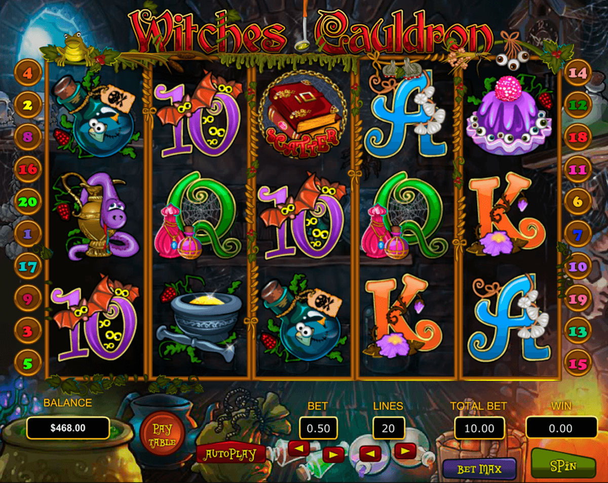 Cash Cauldron Slot Machine - Play the Online Slot for Free