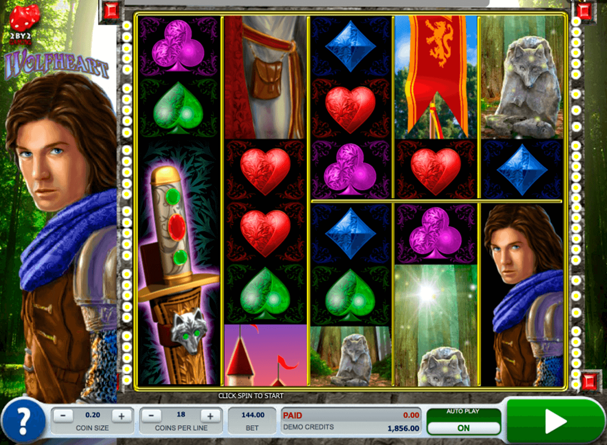 Wolfheart™ Slot Machine Game to Play Free in Microgamings Online Casinos
