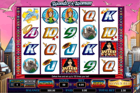 WONDER WOMAN AMAYA CASINO SLOTS
