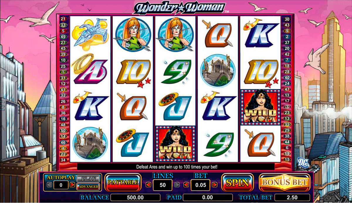 Wonder Woman Online Slots for Real Money - Rizk Casino