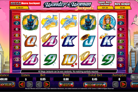 wonder woman jackpots amaya casino slots