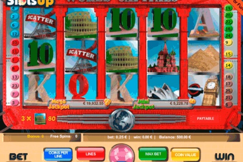 WORLD CAPITALS PORTOMASO CASINO SLOTS
