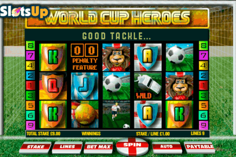 WORLD CUP HEROES OPENBET CASINO SLOTS
