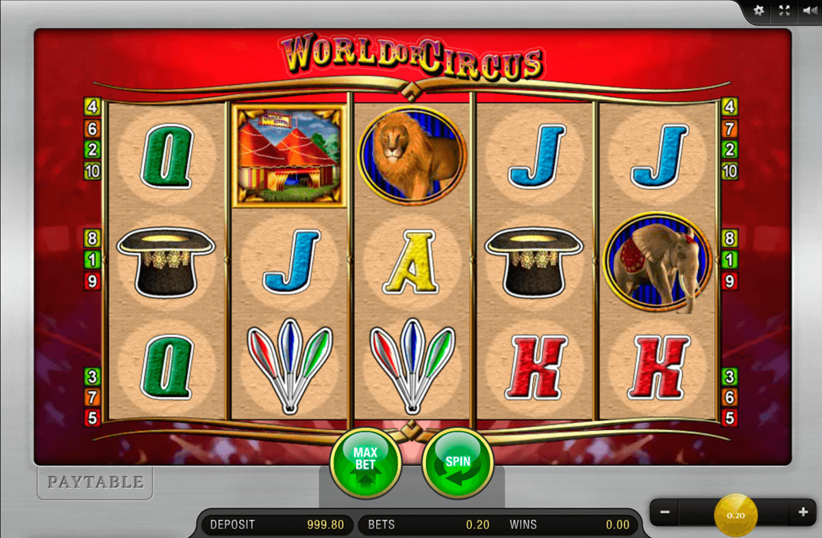 Circus Slot - Review and Free Online Game
