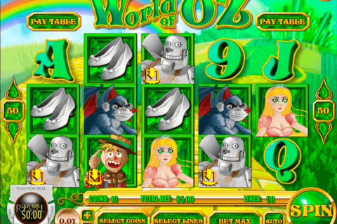 WORLD OF OZ RIVAL CASINO SLOTS