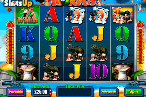 WORMS BLUEPRINT CASINO SLOTS