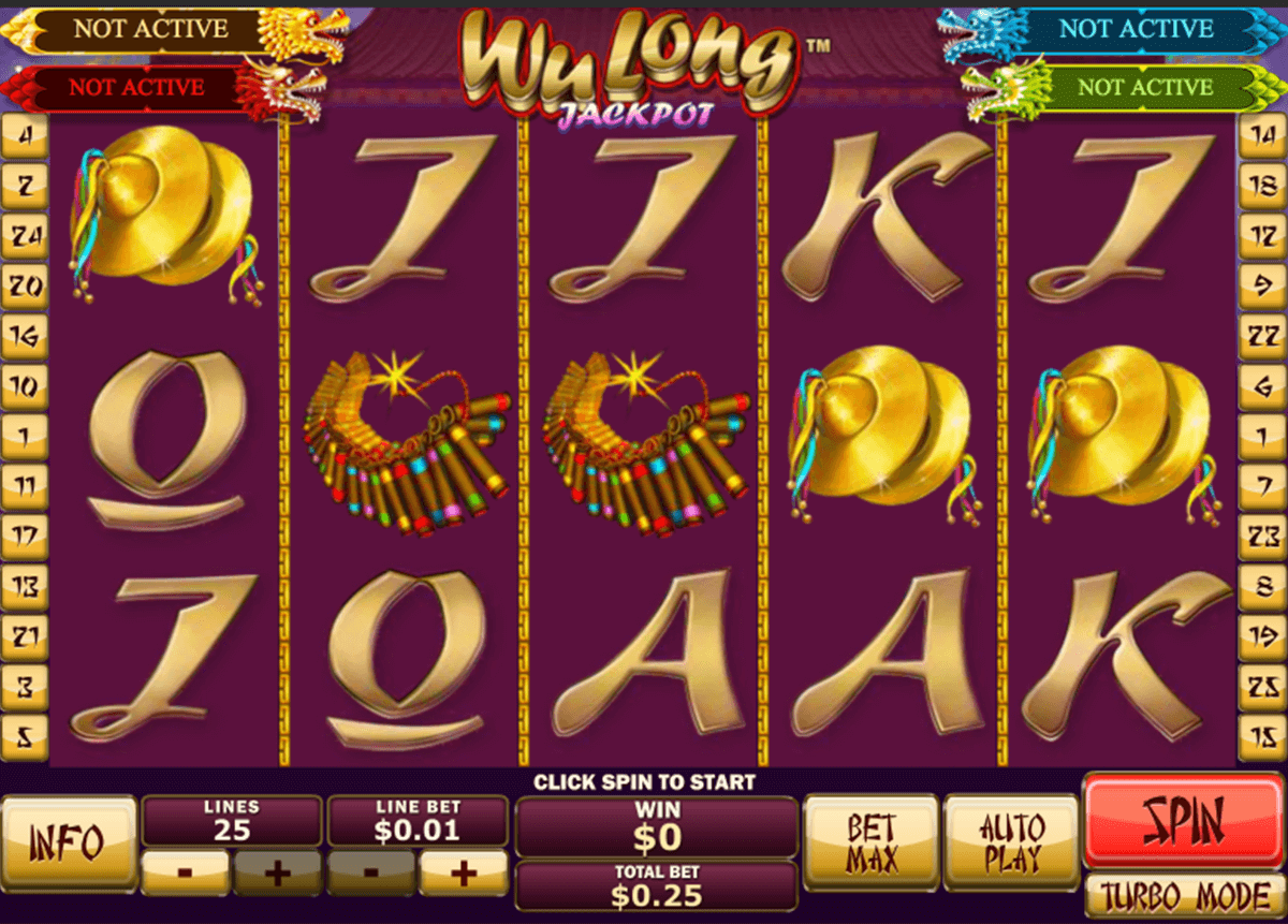 Wu Long™ Slot Machine Game to Play Free in Playtechs Online Casinos