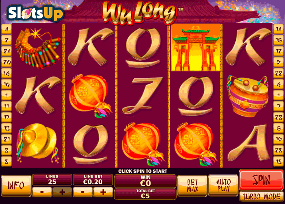 wu long playtech casino slots