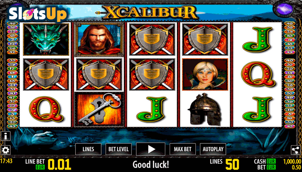 Xcalibur Slots - Available Online for Free or Real