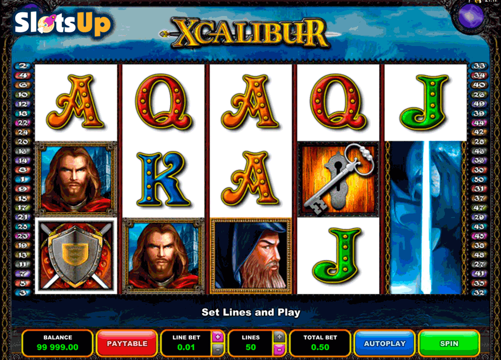 xcalibur microgaming casino slots