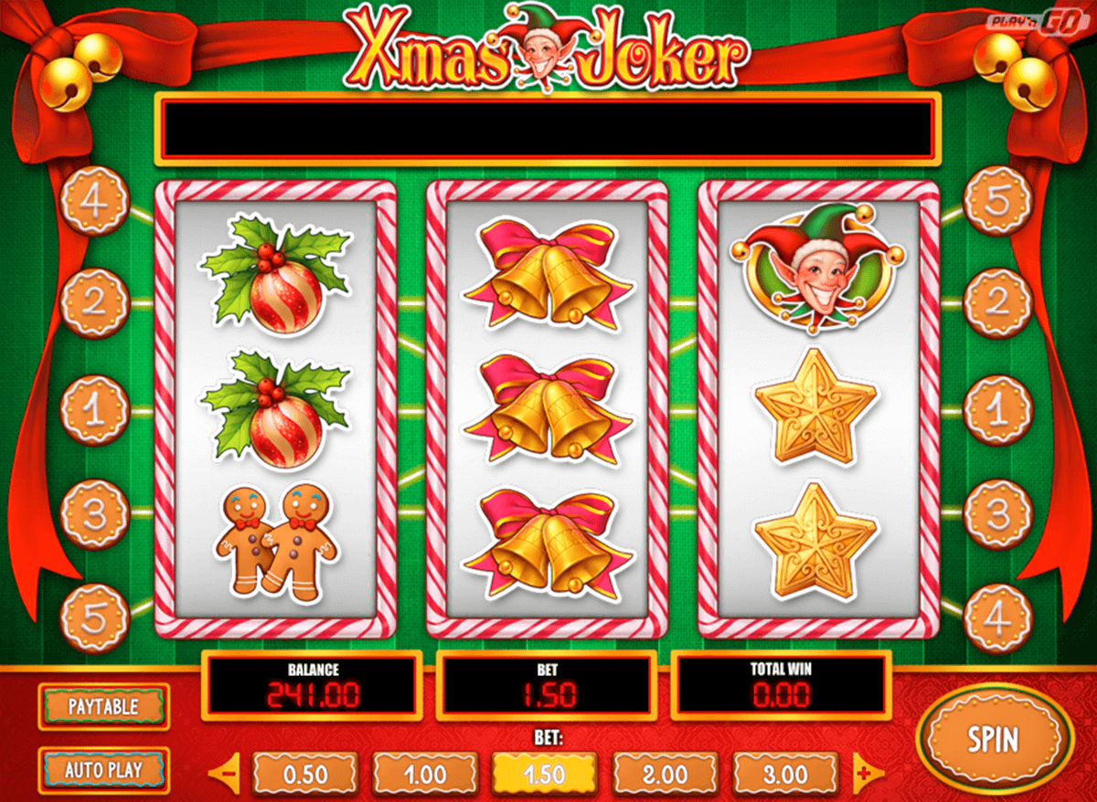 Xmas Joker Slot Machine Online ᐈ Playn Go™ Casino Slots