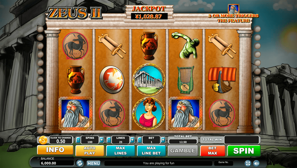 Zeus Slot Machine – Play Zeus Slots by WMS for Free Online