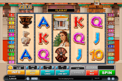 Zeus Slot Machine - Win Big Playing Online Casino Games