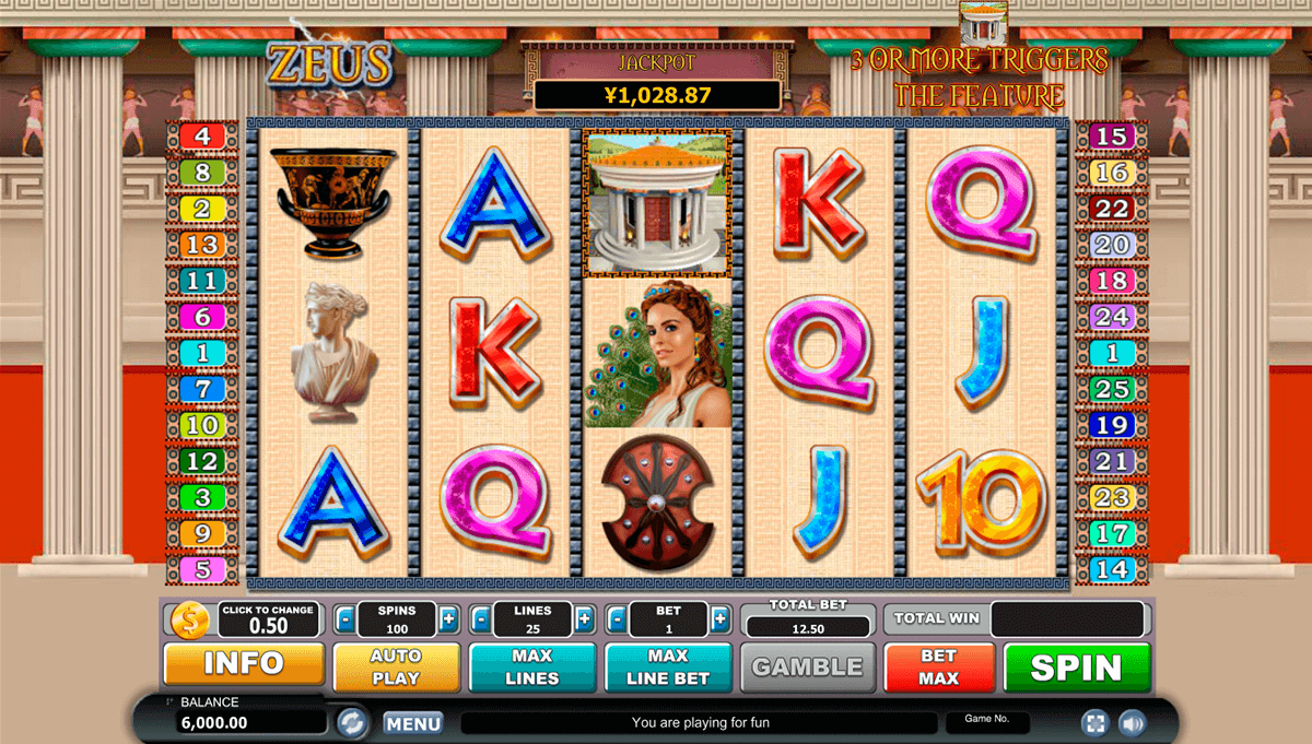 Multiplier Gods Slot Machine - Play for Free Online Today