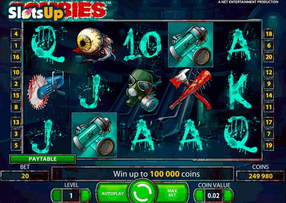 Zombies™ Slot Machine Game to Play Free in NetEnts Online Casinos
