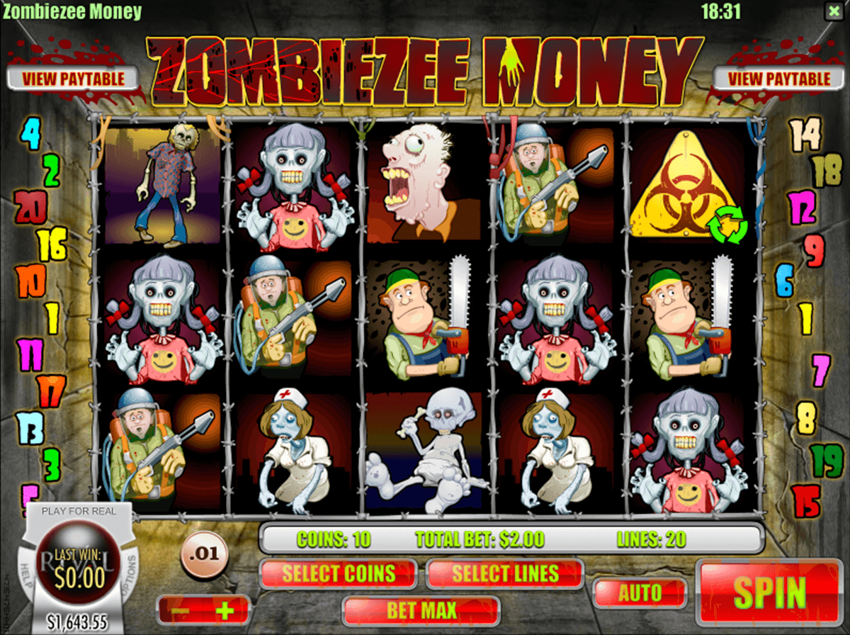 zombiezee money rival casino slots