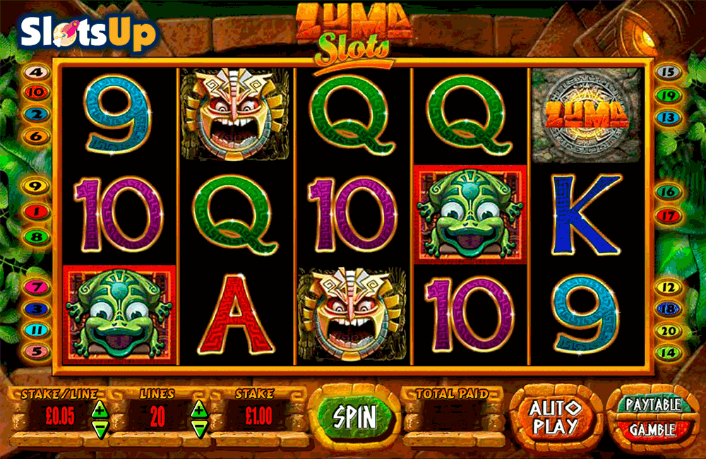 ZUMA BLUEPRINT CASINO SLOTS
