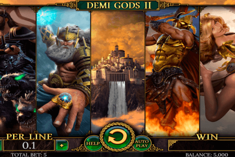 DEMI GODS II SPINOMENAL CASINO SLOTS
