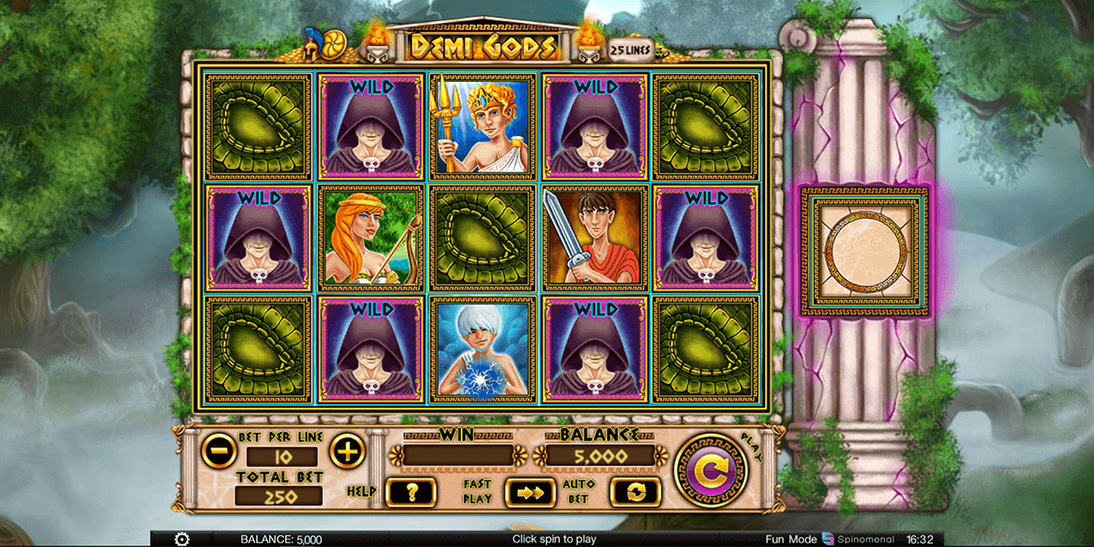 Spiele Demi Gods III - Video Slots Online