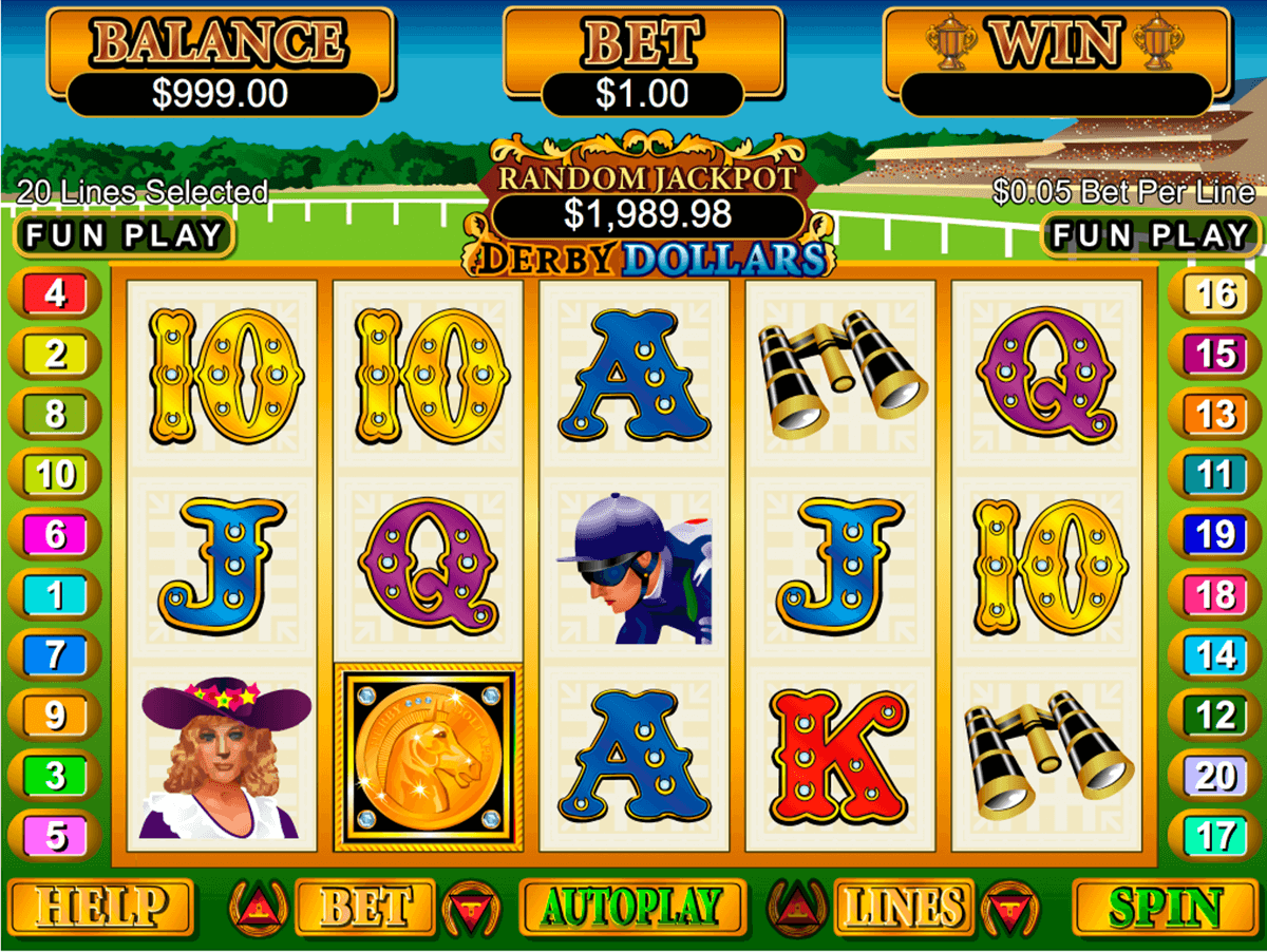 DERBY DOLLARS RTG CASINO SLOTS