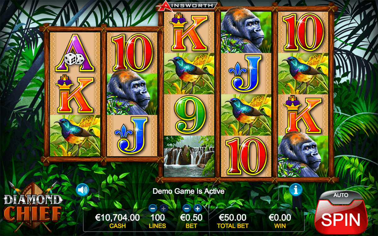DIAMOND CHIEF AINSWORTH CASINO SLOTS