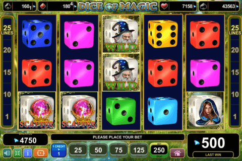 dice of magic egt casino slots