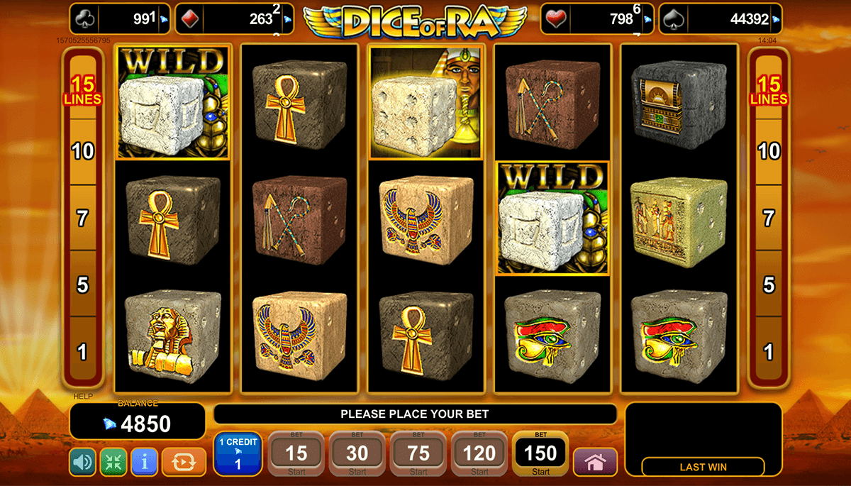 dice online casino games