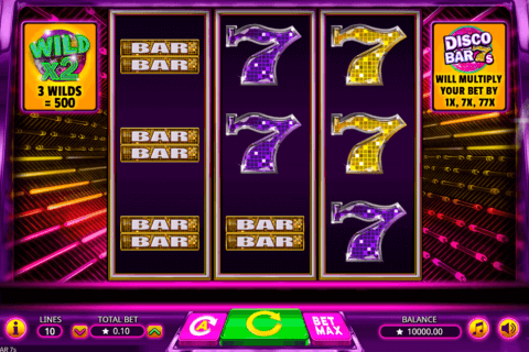 DISCO BAR 7S BOOMING GAMES CASINO SLOTS