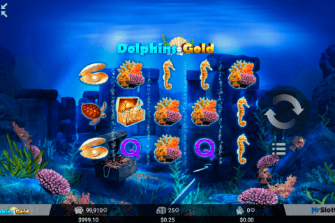 DOLPHINS GOLD MRSLOTTY CASINO SLOTS