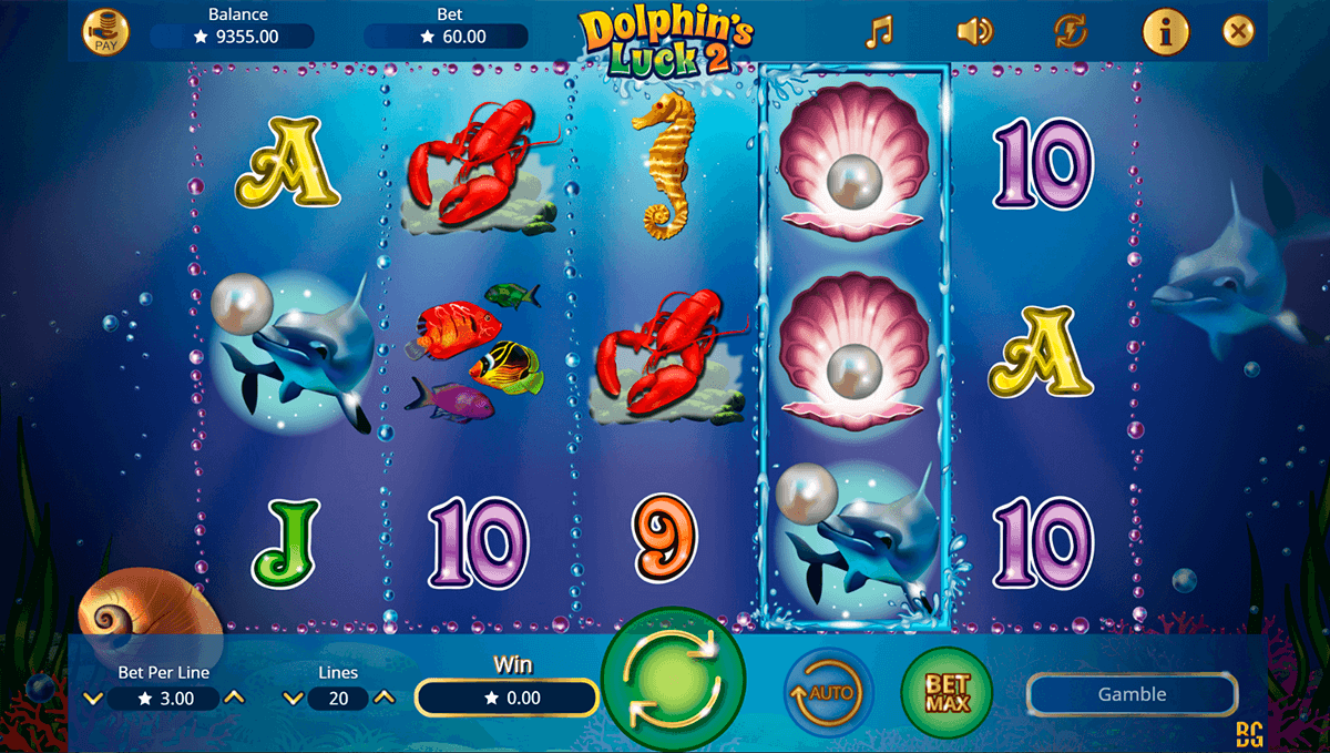 DOLPHINS LUCK 2 BOOMING GAMES CASINO SLOTS