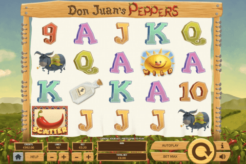 don juans peppers tom horn casino slots