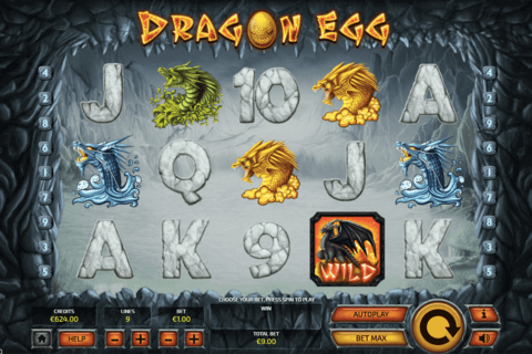 DRAGON EGG TOM HORN CASINO SLOTS
