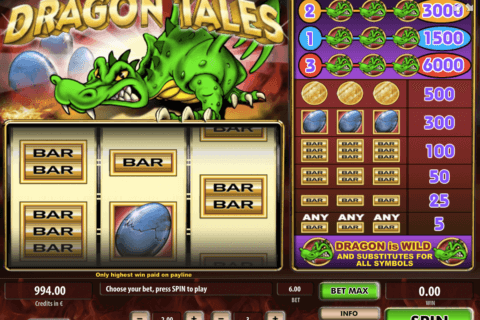 dragon tales tom horn casino slots