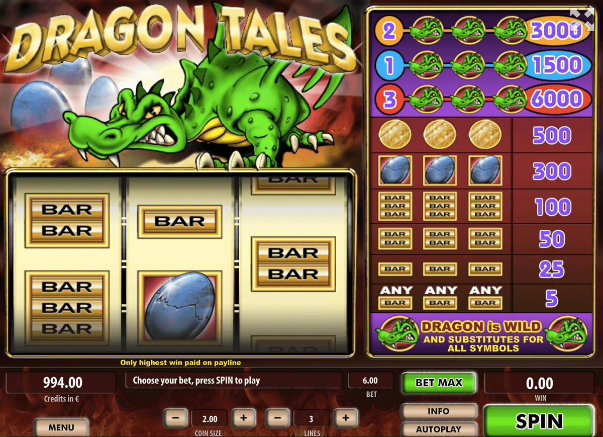 Dragon Tales Slot Machine - Play Free Casino Slots Online