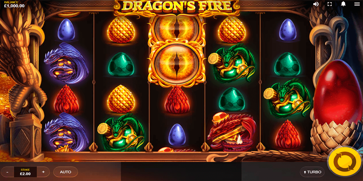 Play Dragons Fire online: Check out our slot review below Dragon's Fire Introduction.You might take a look at the game's name and think, 'Oh, dragons again'.Hold on, though! The theme might not be totally new, but in Red Tiger Gaming's talented, expert hands, you can be rest assured that this is not just any dragon slot.Bismil