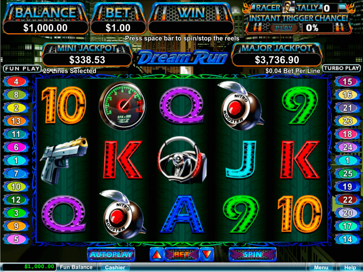 DREAM RUN RTG CASINO SLOTS