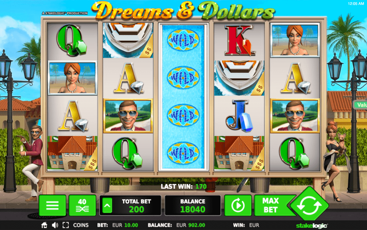 Dreams & Dollars Slot Machine Online ᐈ Stake Logic™ Casino Slots