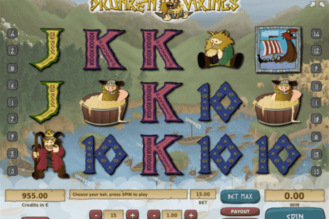 DRUNKEN VIKINGS TOM HORN CASINO SLOTS