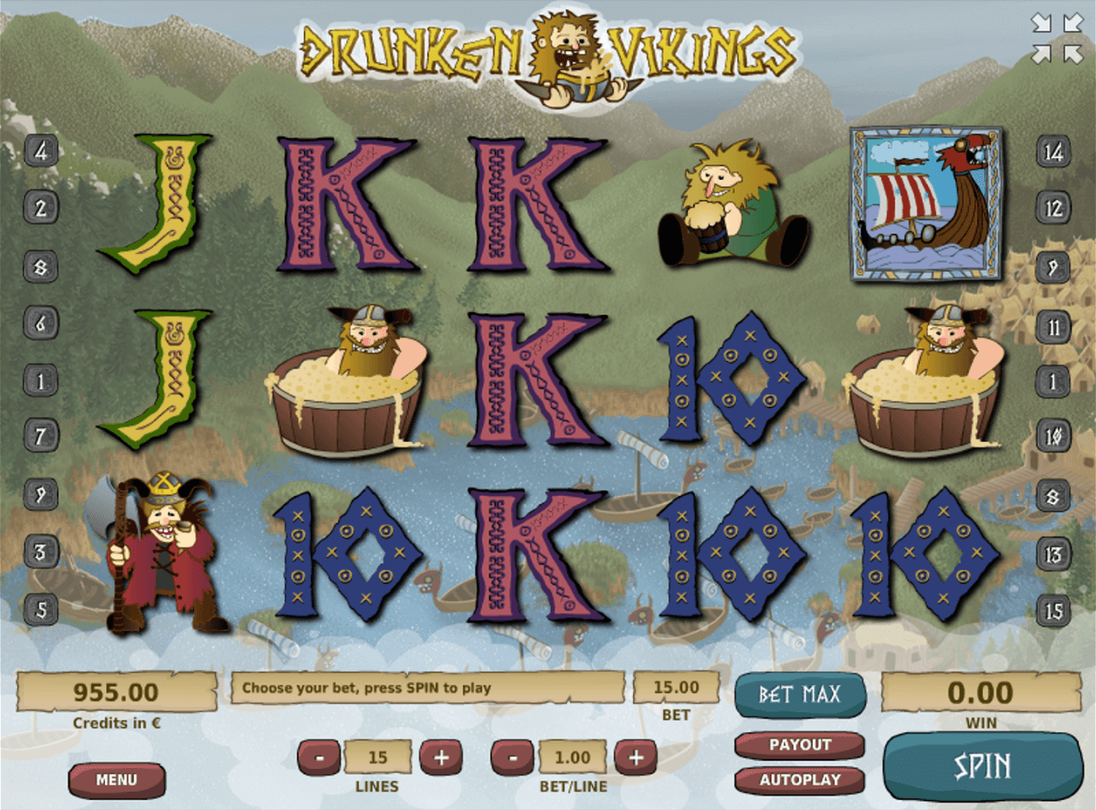 Drunken Vikings Slot Machine Online ᐈ Tom Horn™ Casino Slots