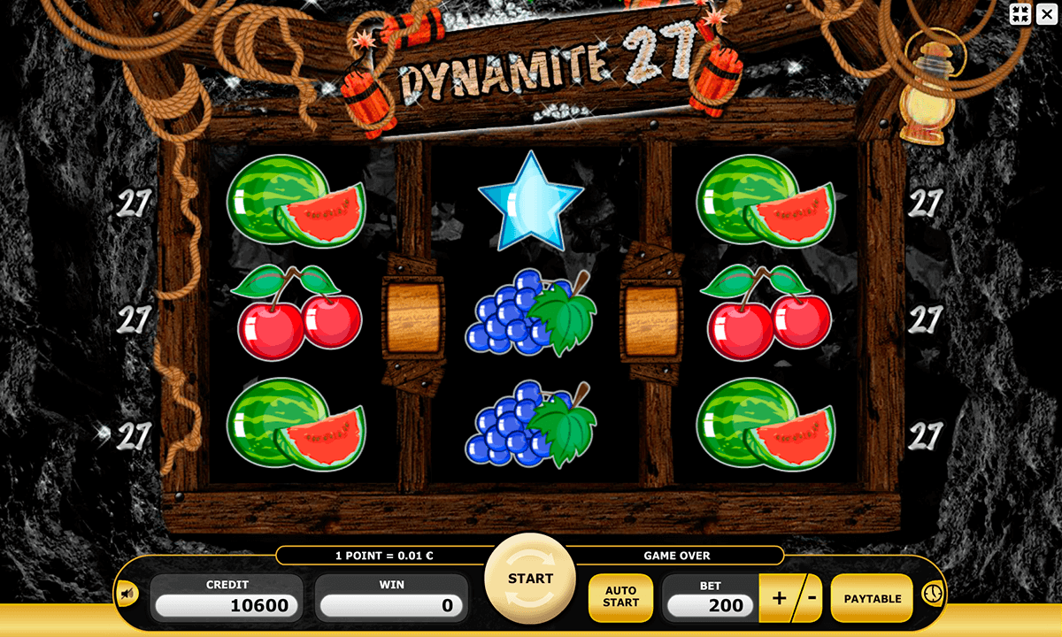 Dynamite 27 Slot - Play the Kajot Casino Game for Free