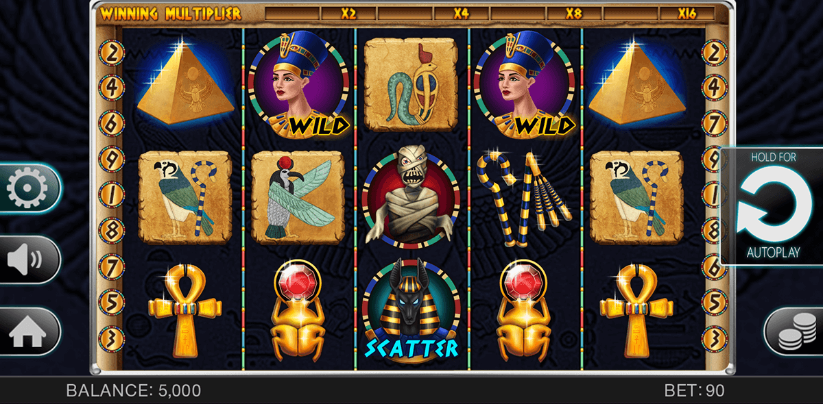 Egyptian Adventure Slot - Try it Online for Free or Real Money